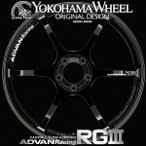 アドバン レーシング RG3 RGIII アルミホイール 18×7.5J 5/114.3 +48 レーシンググロスブラック