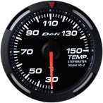 送料無料 デフィ Defi レーサーゲージ (Racer Gauge) Φ52 ホワイト 温度計 (油温計・水温計) 30〜150℃ DF06706