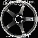 ヨコハマ アドバン レーシング GT アルミホイール 18×9.5J 5/114.3 +29 マシニング&レーシングメタルブラック