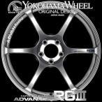 ADVAN Racing RG3 RGIII アルミホイール 18×8.5J 5/114.3 +31 レーシングハイパーブラック