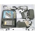 ☆ makita 充電式インパクトドライバ 18V 3.0Ah TD149DRFXW 中古