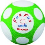 ミカサ(MIKASA) フアフアサッカー4号(白/緑) FFF4WG