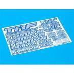 タミヤ(TAMIYA) (TRFパーツ) TRFステッカーC (ブルーエッジ/ミラー) (42237)ラジコン用