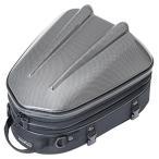 TANAX(タナックス) バイク用シートバッグ MOTOFIZZ (モトフィズ) シェルシートバッグ MT/カーボン柄 (容量10-14L) MFK-238CA
