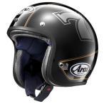ARAI(アライ) ジェットヘルメット CLASSIC MOD CAFE RACER (カフェレーサー) ブラック Sサイズ 55-56cm