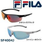 FILA フィラ スポーツサングラス ミラータイプ SF4004J 10・メタリックブラック