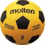 モルテン(Molten) 亀甲ゴムサッカーボール(3号球)黄x黒 F3Y