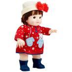 ぽぽちゃん お人形 冬季限定 女の子だもんぽぽちゃん ふわふわリボンの帽子