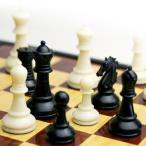 【チェスの練習用に】アウトレット10%OFFプラスチック製チェス駒 スタントンスタイル 小