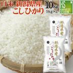 米 5kg×2 コシヒカリ 新潟県産 10kg 精白米 白米 28年産 送料無料