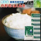 無洗米 山形県産はえぬき 2合(300g) ×30袋 宅配便送料込み 令和元年産 米 食品