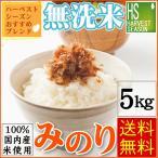 無洗米 5kg 国内産 100% みのり ブレンド 30年産 100%使用 送料無料