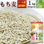 もち麦 1kg (500g×2袋) (大麦) (メール便 送料無料) (予約:1/25発送) アメリカ産