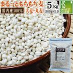 まるっともちもち麦 国産 5kg (500g×10袋) お得なケース まとめ買い (大麦 丸麦) 送料無料