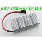 2/3A 4.8V 1500mAh 平型 ニッケル水素 Ni-MH Turnigy