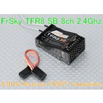 Frsky TFR8SB フタバ 2.4G FASST SBUS 互換 受信機