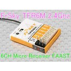 no2 FrSky TFR6M 2.4Ghz 6CH 受信機 フタバ互換FAAST