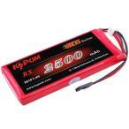 Kypom K6 7.4V 2500mAh 平 受信機用 リポ バッテリー