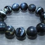 パワーストーン 天然石 シルバータイガーアイブレスレット16mm t31-5156