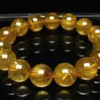 ゴールドタイチンルチル ブレスレット 15mm t473-3079