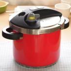 ショッピング圧力鍋 (送料無料・代引&同梱不可)ワンダーシェフ オースキュート両手圧力鍋 5.0L