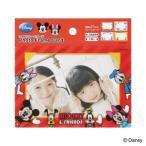 (送料無料)ナカバヤシ フォトフレームカード4枚組 ミッキー&フレンズ PFCD-302-1