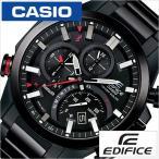 CASIO 腕時計 カシオ 時計 エディフィス EDIFICE メンズ ブラック CASIO-EQB-501DC-1AJF