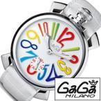 ショッピングGG ガガミラノ 腕時計 GaGaMILANO マヌアーレ 48MM アッチャイオ メンズ時計GG-5010.1 セール