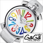 ショッピングGG ガガミラノ腕時計 GaGaMILANO時計 GaGa MILANO 腕時計 ガガ ミラノ 時計マヌアーレ 48MM アッチャイオMANUALE 48MM ACCIAIO メンズ時計GG-5010.1