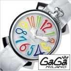 ガガミラノ 腕時計 GaGaMILANO マヌアーレ 40MM アッチャイオ メンズ レディース 時計GG-5020.1 セール
