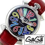 ショッピングGG ガガミラノ 腕時計 GaGaMILANO マヌアーレ 40MM アッチャイオ メンズ レディース 時計GG-5020.2 セール