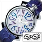 ガガミラノ 腕時計 GaGaMILANO マヌアーレ 40MM アッチャイオ メンズ レディース 時計GG-5020.3 セール