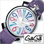 ショッピングGG ガガミラノ 腕時計 GaGaMILANO マヌアーレ 40MM アッチャイオ メンズ レディース 時計GG-5020.7 セール