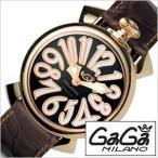 ガガミラノ 腕時計 GaGaMILANO マヌアーレ 40MM プラカット オロ メンズ レディース 時計GG-5021.3 セール