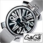 ガガミラノ 腕時計 GaGaMILANO スリム 46MM アッチャイオ メンズ時計GG-5080.2 セール