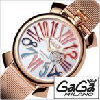 ショッピングGG ガガミラノ 腕時計 GaGaMILANO スリム 46MM プラカット オロ メンズ時計GG-5081.1 セール