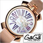 ガガミラノ 腕時計 GaGaMILANO スリム 46MM プラカット オロ メンズ時計GG-5081.3 セール