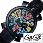 ガガミラノ 腕時計 GaGaMILANO スリム 46MM PVD PVD メンズ時計GG-5082.1 セール