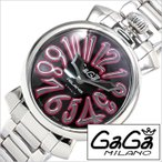 ショッピングGG ガガ ミラノ 腕時計 GaGa MILANO 時計 マヌアーレ 35mm GG-60203 レディース