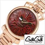 ショッピングGG ガガ ミラノ 腕時計 GaGa MILANO 時計 マヌアーレ 35mm GG-60214 レディース