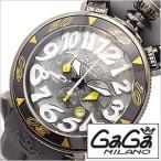 ガガ ミラノ 腕時計 GAGA MILANO PVD CHRONO48mm GG-60546-GY /メンズ/レディース セール