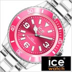 ICE WATCH 腕時計 アイスウォッチ 時計 アイスピュア ICE PURE メンズ レディース ピンク ICE-000664