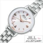 ジルバイジルスチュアート 腕時計 JILL by JILLSTUART 時計 ニューヨーク・ニューヨーク レディース ホワイト NJAK003