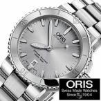 オリス腕時計 ORIS時計 ORIS 腕時計 オリス 時計 ダイバー アクイス デイト Diving Aquis Date メンズ腕時計/シルバー/ORIS-73376764141M セール