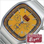 オニツカタイガー 腕時計 OnitsukaTiger クロノグラフ モデル メンズ イエロー OTTC0202 鬼塚 セール
