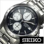 セイコー SEIKO 腕時計 クロノグラフ メンズ時計 SND365PC セール