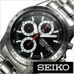 セイコー SEIKO 腕時計 クロノグラフ メンズ時計 SND371PC セール