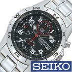 セイコー SEIKO 腕時計 クロノグラフ メンズ時計 SND375PC セール