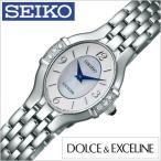 セイコー 腕時計 SEIKO 時計 ドルチェ&エクセリーヌ DOLCE&EXCELINE レディース ホワイト SWDX169