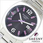 サクスニーイザック 腕時計 SACSNY YSACCS メンズSY-15045S-BK セール